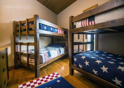 The Eagle Room at Blissful Ridge Lodge