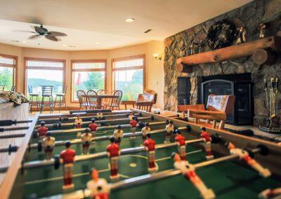 Blissful Ridge foosball table