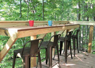 Buckeye Barn deck bar
