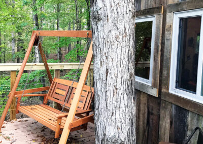 Buckeye Barn deck swing
