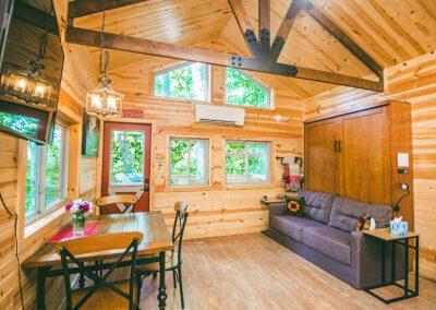 Buckeye Barn living and dining area