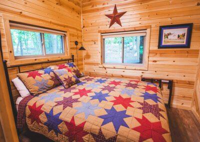 Buckeye Barn queen bedroom