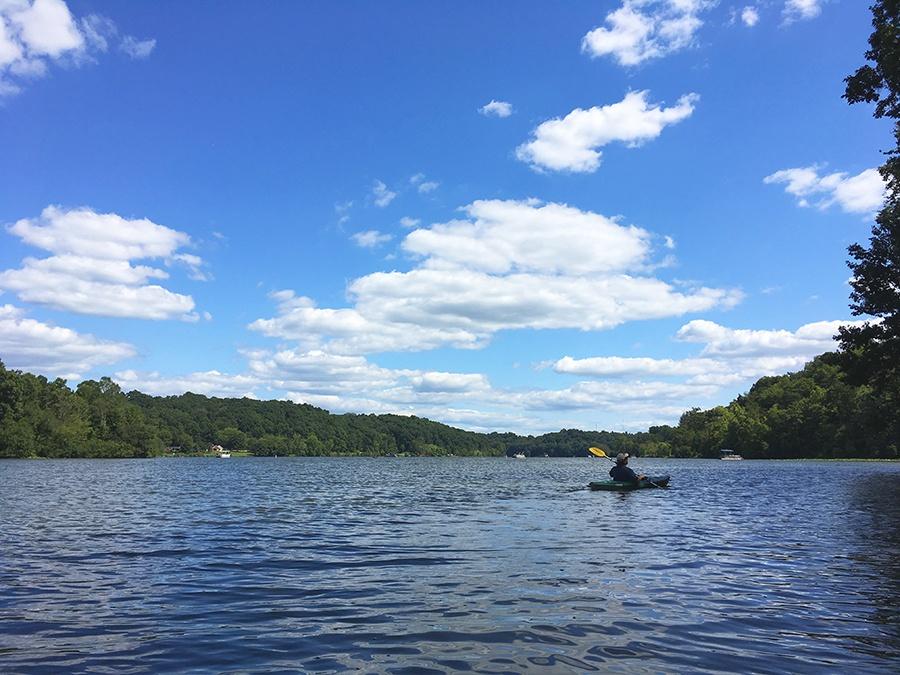 Lake Logan Kayaking