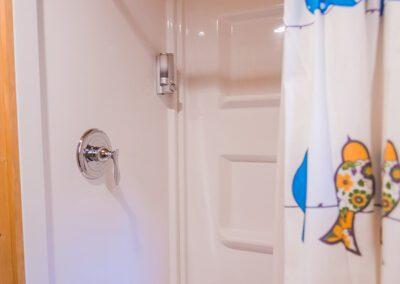Maple View bathroom shower