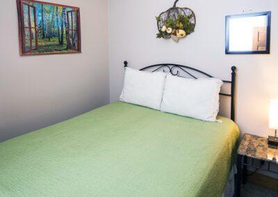 Coyote bedroom at Blissful Ridge Lodge