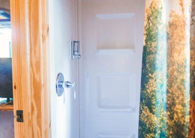 Safari bathroom shower