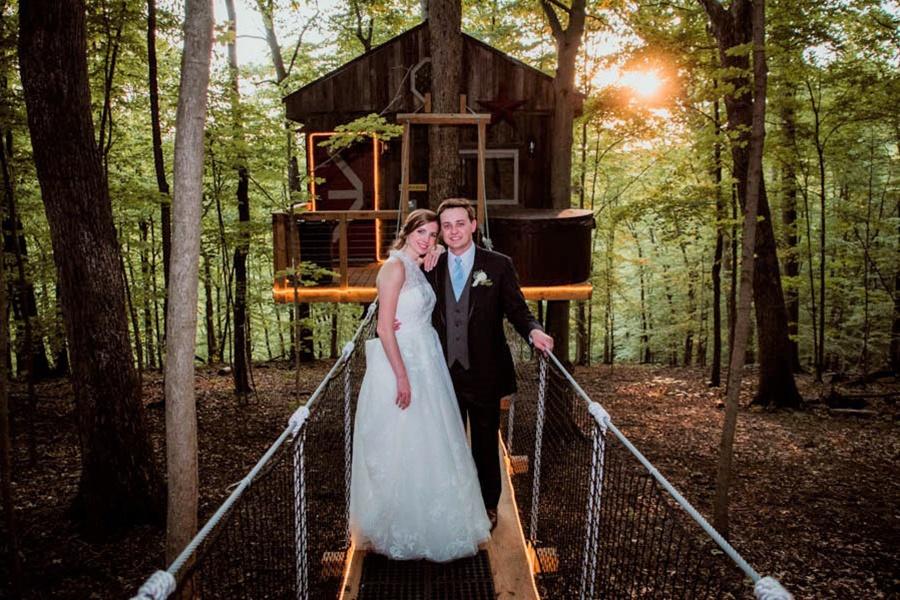 Wedding at Buckeye Barn