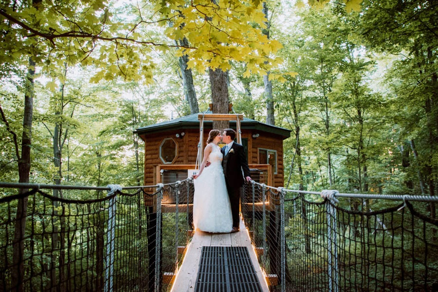 Wedding at Safari Tree House